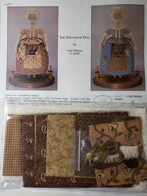 GAIL WILSON - The Ladies Home Sewing Companion  - A Pincushion Doll - Complete Kit