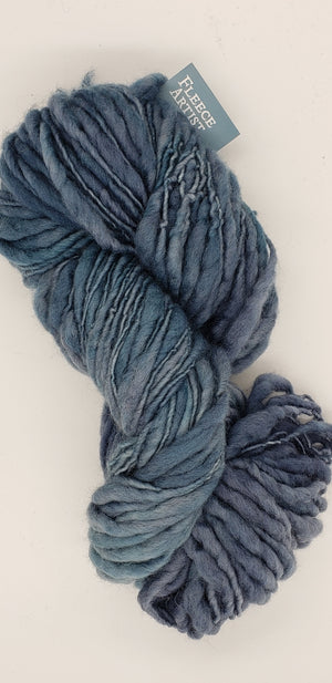Slubby - STAR DUST - Merino/Blue Face Leicester - Hand Dyed Textured Yarn Thick and Thin  - Shades of