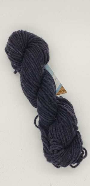 Wonder Woolen - AFTER DARK -  Fleece Artist Hand Dyed Yarn - Black