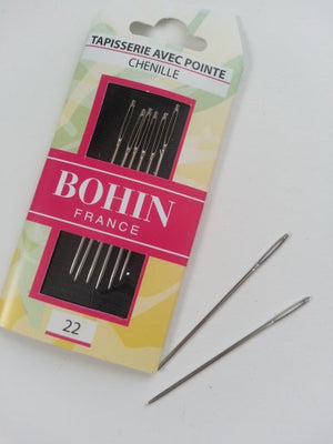 Bohin Chenille Needles #22 for Wool Applique
