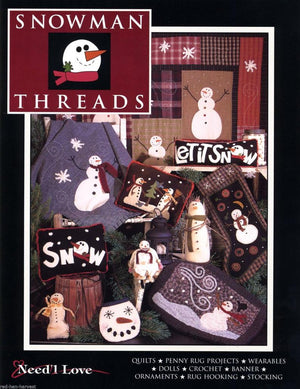 Snowman Threads by Need'l Love