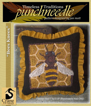 Bees Knees - Punch Needle Pattern