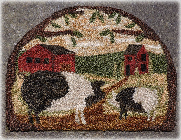 Country Pig - Punch Needle Pattern