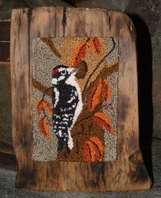 Downy Woodpecker - Punch Needle Pattern