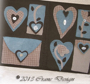 Sewing Memories Sewing Kit Wool Applique Pattern