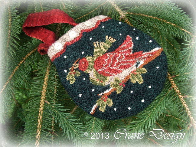 Winter Flight - Punch Needle Pattern
