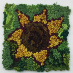 SUNFLOWER - Rug Hooking Kit - Deanne Fitzpatrick Design