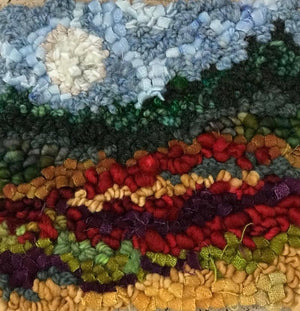 COUNTY MOON - Rug Hooking Kit - Deanne Fitzpatrick Design