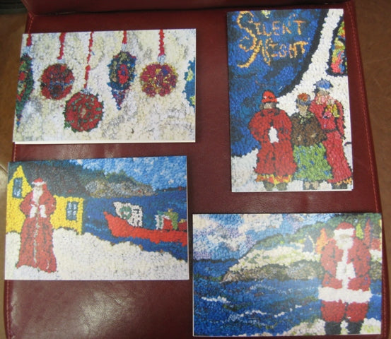 Note Cards - Set of 4 Christmas Cards
