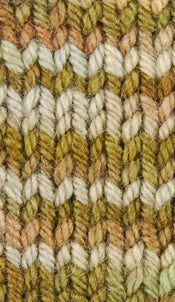 BOREAL - Wonder Woolen Fleece Artist Hand Dyed Yarn - Shades of Green/Brown