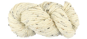 BIRCH - Bramble Tweedy Natural Worsted Hand Dyed Yarn
