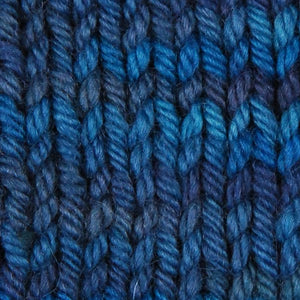 Wonder Woolen - OCEAN- Fleece Artist Hand Dyed Yarn - Shades of Blue