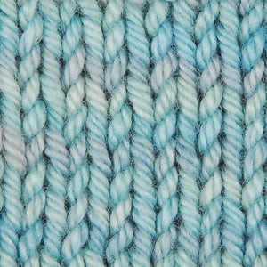 SALT SPRAY - Wonder Woolen Fleece Artist Hand Dyed Yarn - Shades of Blue