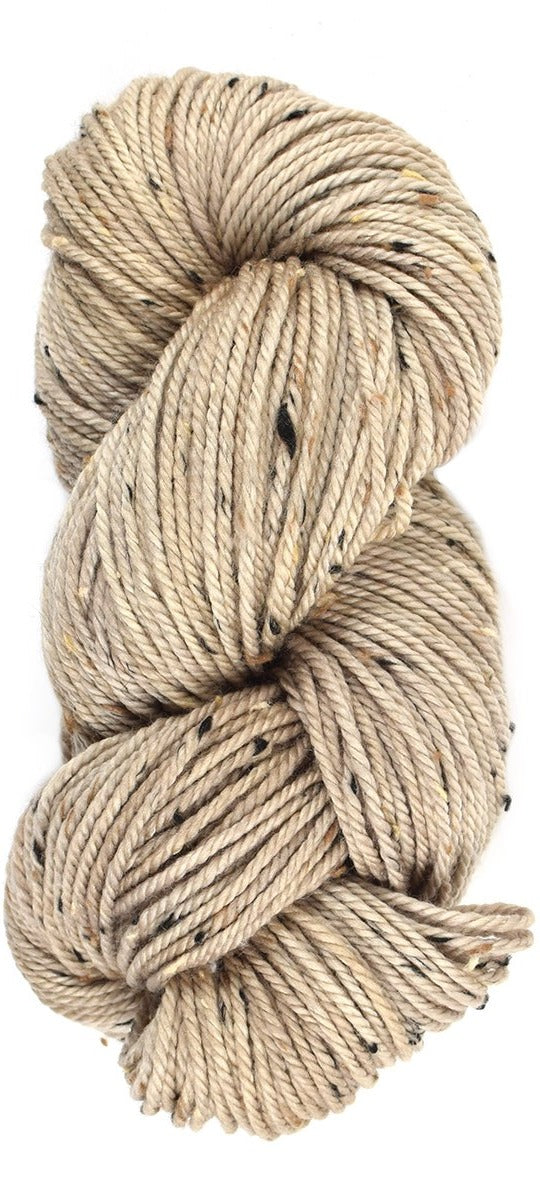 CARIBOU  - Thicket Tweedy Aran Light Beige Hand Dyed Yarn