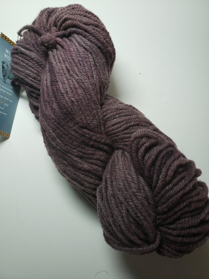 Wonder Woolen - COCOA - Fleece Artist Hand Dyed Yarn 4 ounces/115g