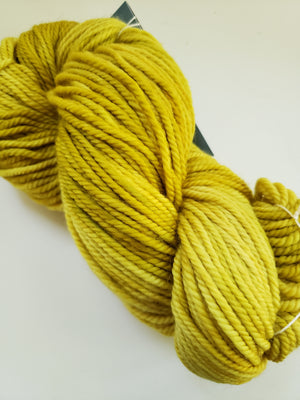 GOLDEN FIELDS - Back Country Hand Dyed OOAK Yarn 4 ounces/125g