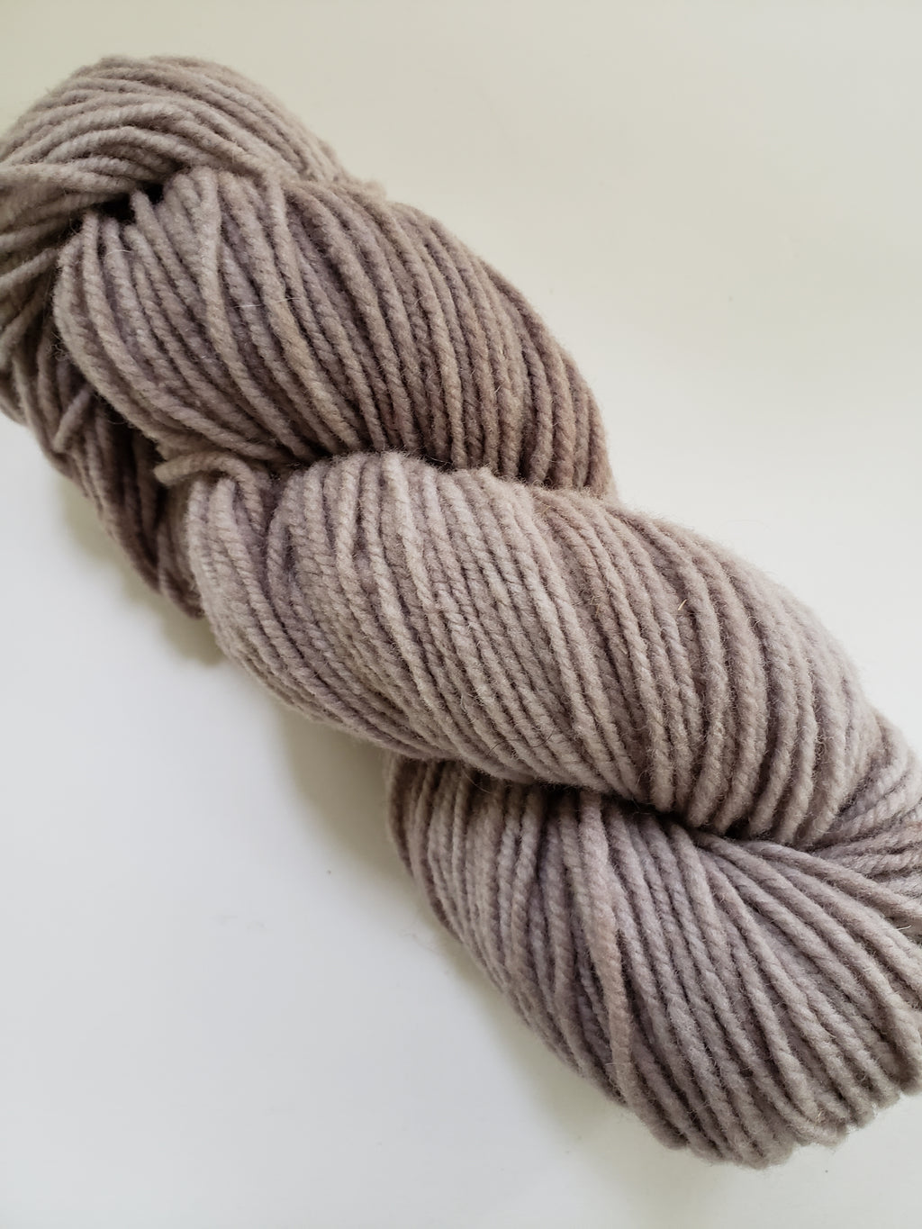 OATMEAL TAUPE - Wonder Woolen Fleece Artist Hand Dyed Yarn 4 ounces/115g