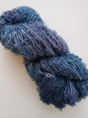Silky Curly Locks - STARDUST - Hand Dyed Textured Yarn - Landscape Shades