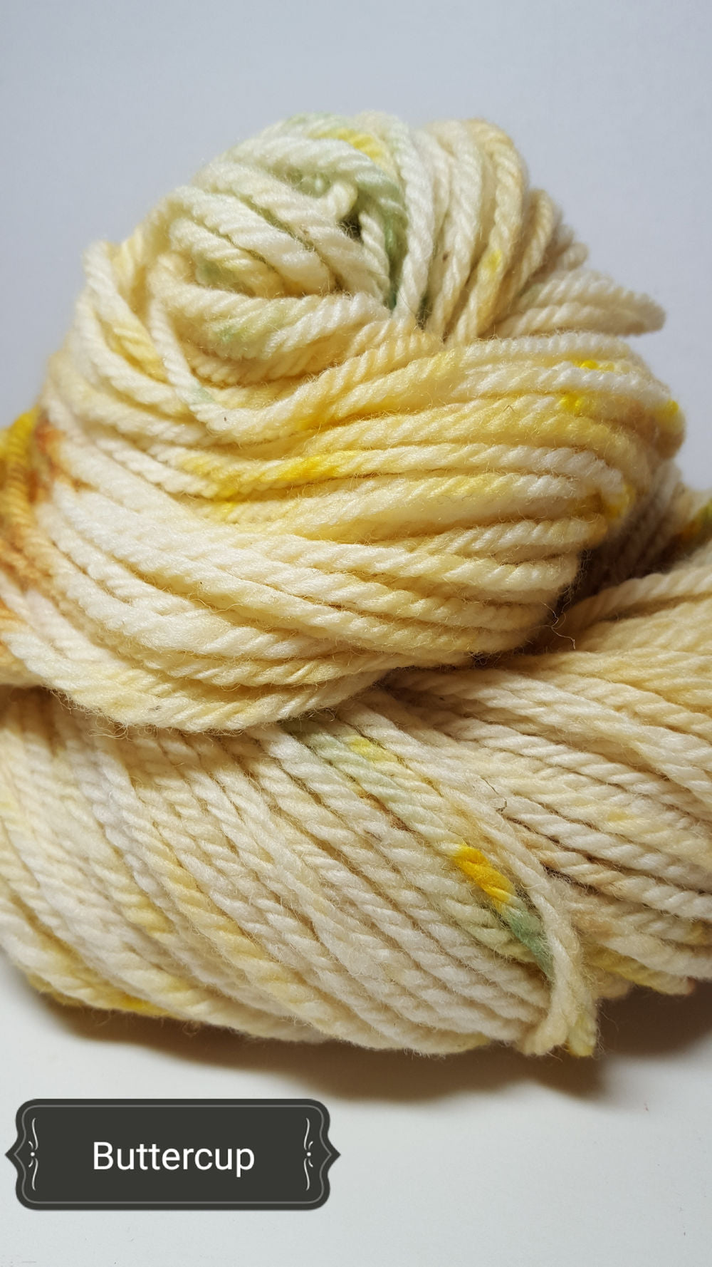 Buttercups - Hand Dyed Aran/Worsted Yarn for Rug Hooking