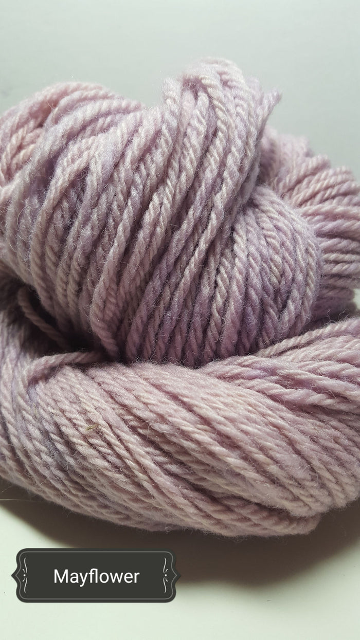 Mayflower - Hand Dyed Aran/Worsted Yarn for Rug Hooking