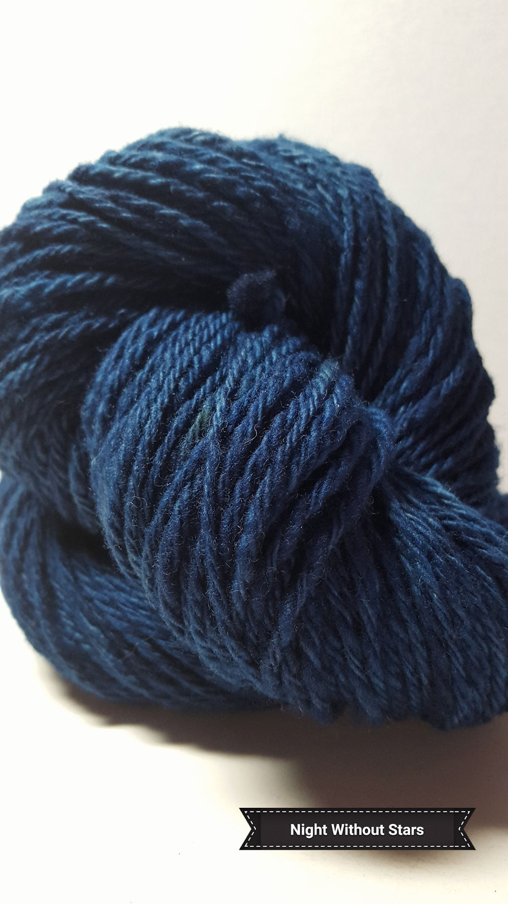 Night Without Stars - Hand Dyed Aran/Worsted Yarn for Rug Hooking
