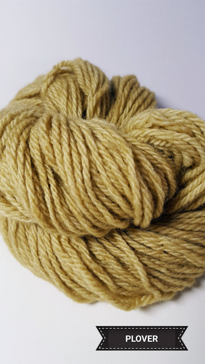 Plover - Hand Dyed Aran/Worsted Yarn for Rug Hooking