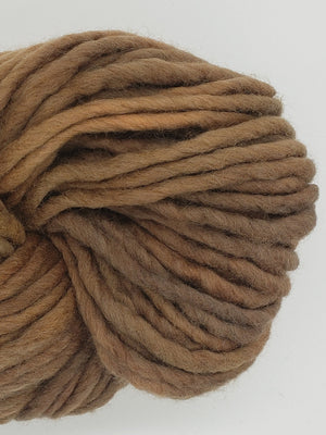 Flouf - BROWN SUGAR - 100% Merino Chunky - Fleece Artist Hand Dyed Yarn