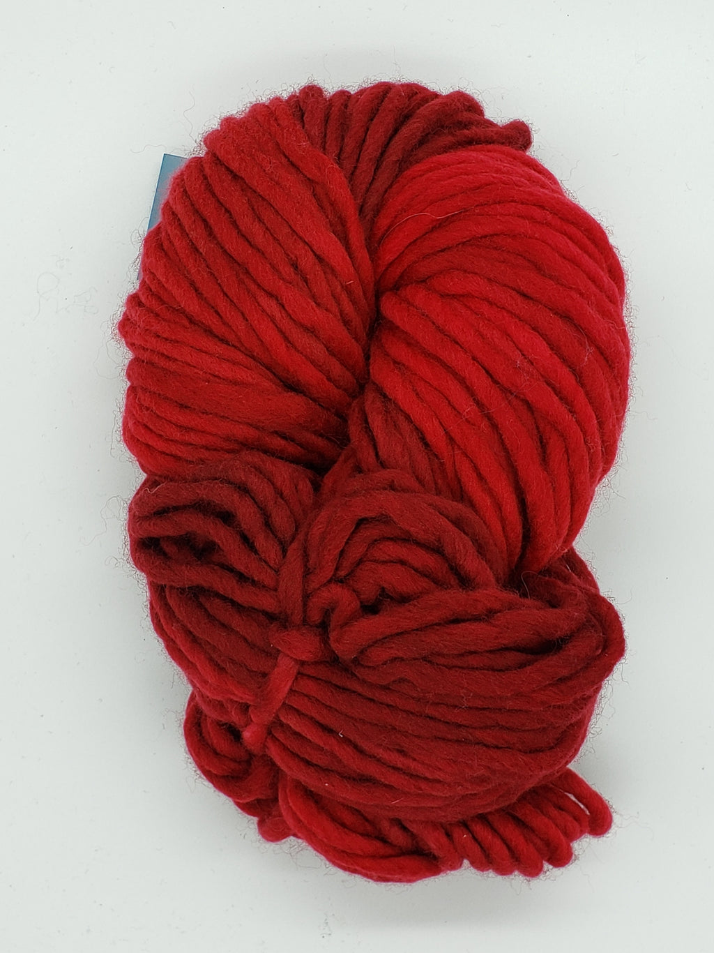 Flouf - RUBY - 100% Merino Chunky - Fleece Artist Hand Dyed Yarn - Shades of Red