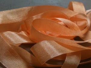 Ambrosia - Silk Style Vintage Ribbon - 5 Yards