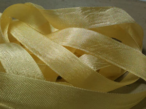Champagne - Silk Style Vintage Ribbon - 5 Yards