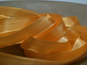 Goldenrod - Silk Style Vintage Ribbon - 5 Yards