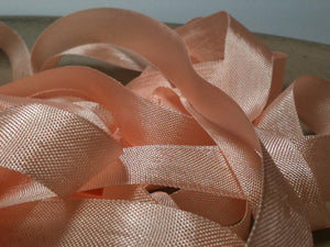 Grecian Pink - Silk Style Vintage Ribbon - 5 Yards