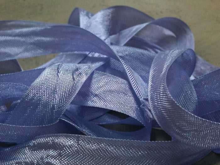 Lilac - Silk Style Vintage Ribbon - 5 Yards