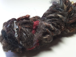 Hand Spun Yarn for Rug Hooking - The Shetlands - OOAK