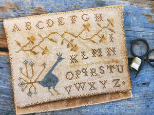 VELVET SAMPLER BAG - Cross Stitch Kit - Stacy Nash Primitives