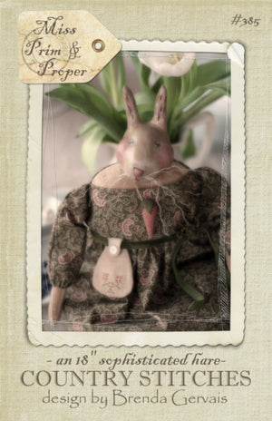 MISS PRIM and PROPER - Pattern for Cloth Art Doll by Brenda Gervais