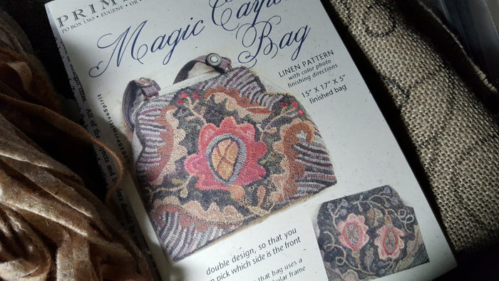 Magic Carpet Bag - Rug Hooking Kit with Pattern - Karen Kahle