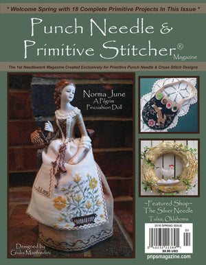 PUNCH NEEDLE & PRIMITIVE STITCHER Magazine - Single Issue June 2016