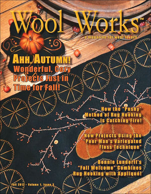 WOOL WORKS AUTUMN 2017 - Magazine for Wool Lovers Vol 1, Issue 3