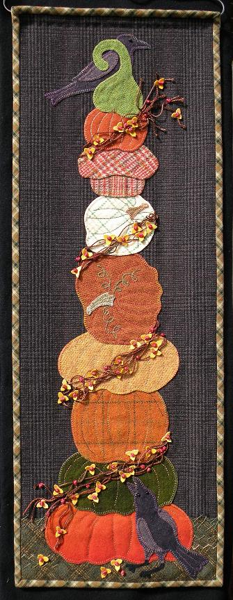 Autumn Splendour Wool Applique Pattern