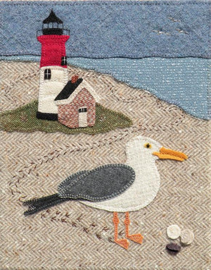 Nessy Visits Nauset Wool Applique Pattern