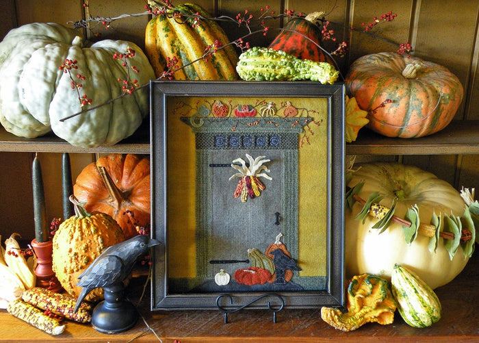 Enter into Autumn -  Wool Applique Pattern
