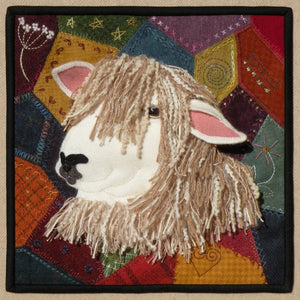 Crazy for Ewe Wool Applique with Option for a Thread Kit - Meetinghouse Hill