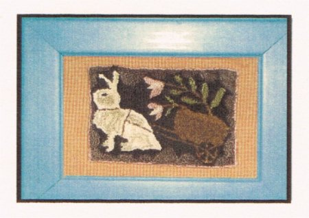 Vintage Rabbit - Punch Needle Pattern