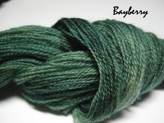 Bayberry #022 - Wool Thread for Needle Punch and Wool Applique - Red Sand Fibre