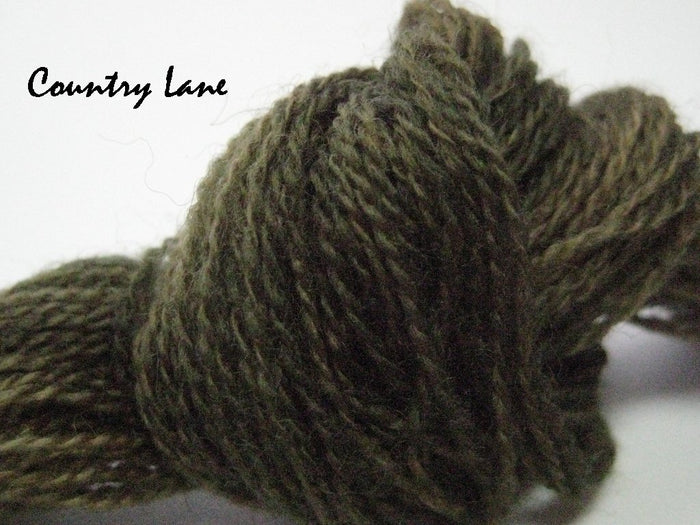 Country Lane #014 - Wool Thread for Needle Punch and Wool Applique - Red Sand Fibre