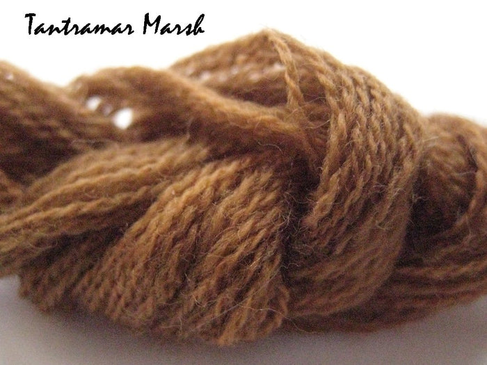 Tantramar Marsh #006 - Wool Thread for Needle Punch and Wool Applique - Red Sand Fibre