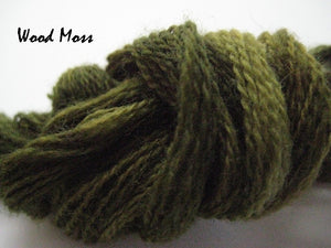 Wood Moss #009 - Wool Thread for Needle Punch and Wool Applique - Red Sand Fibre