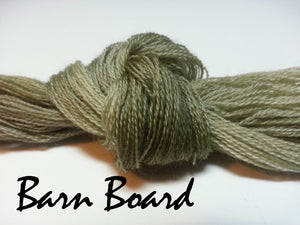 Barn Board #005 - Wool Thread for Needle Punch and Wool Applique - Red Sand Fibre