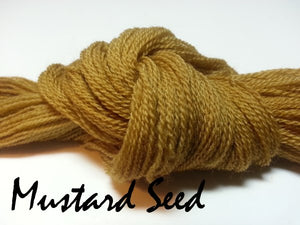 Mustard Seed #024 - Wool Thread for Needle Punch and Wool Applique - Red Sand Fibre